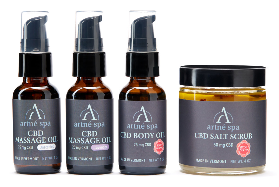Artne Spa CBD massage oils